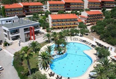 Нощувка на база Закуска и вечеря,All inclusive в Lagomandra Hotel & Spa 4*, Неос Мармарас, Халкидики - Снимка