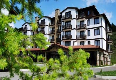 Почивка в Хотел 3 планини 3* в Разлог ! 2 или 6 нощувки на база All Inclusive, ползване на класическа сауна, солна сауна, парна баня, приключенски душ, шоково ведро и минерален басейн, безплатно за дете до 6.99г. - Снимка