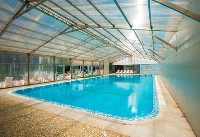 Почивка през септември или октомври в хотел Вита Спрингс 3* в с. Баня до Банско! Нощувка със закуска и вечеря, ползване на минерален басейн, джакузи и халат - Снимка