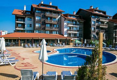Пролетна почивка в Хотел Балканско Бижу 4* край Банско! 1, 2, 3 или 5 нощувки със закуски или със закуски и вечери, ползване на вътрешен басейн, сауна, парна баня и джакузи, бзплатно за дете до 5.99 г.  - Снимка