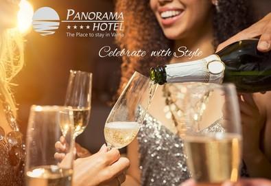 С празнично настроение и изглед към Варненския залив от 27.12.2020 до 03.01.2021 в хотел Панорама 4*, Варна! 1 нощувка със закуска и празничен брънч на 1 януари 2021г.! - Снимка