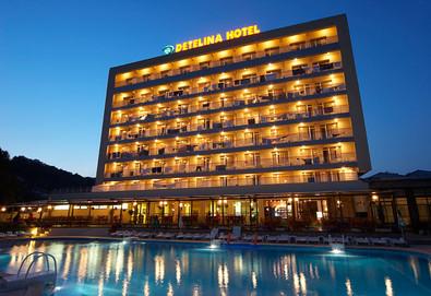 Почивайте в края на лятото на супер цена в хотел Детелина 3*, Златни пясъци! Нощувка на база All inclusive, ползване на външен басейн, шезлонг и чадър, сутрешна гимнастика и аква аеробика - Снимка