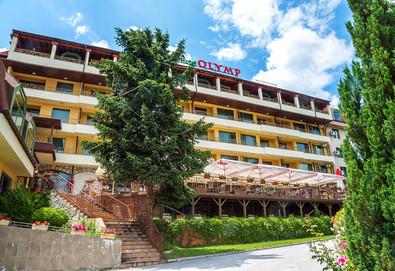 Почивка в хотел Олимп 4* във Велинград! Нощувка със закуска и вечеря, ползване на закрит и открит минерален басейн, римска баня, тепидариум, класическа сауна и фитнес - Снимка