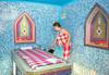 Релакс в хотел Олимп 4* във Велинград! Нощувка със закуска, ползване на закрит и открит минерален басейн, римска баня, тепидариум, класическа сауна и фитнес - thumb 42