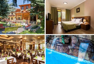 Релаксирайте в СПА хотел Елбрус 3*, Велинград! 1 нощувкa със закуска и вечеря, ползване на минерални басейни и СПА, еднократно ползване на солна стая! - Снимка