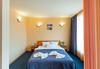 Почивка на супер цена в хотел Джемелли 2*, Обзор! Нощувка с възможност за закуска, обяд и/или вечеря, ползване на сауна и халат - thumb 2