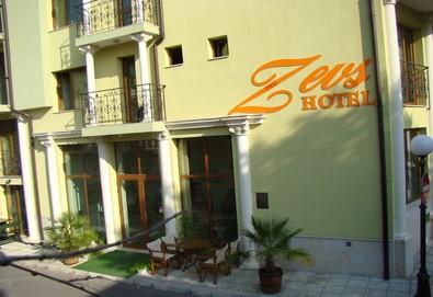 Пролетна почивка на морето в хотел Зевс 3*, Поморие! Нощувка или нощувка със закуска на 300 м. от плажната ивица или пешеходната морска алея, безплатно за дете до 1.99 г.  - Снимка