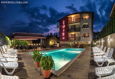 Летен релакс в хотел Енира във Велинград! 1 нощувка със закуска и вечеря, ползване на закрит и открит минерален басейн, джакузи, сауна и парна баня с ароматни билки и ледено ведро - Снимка