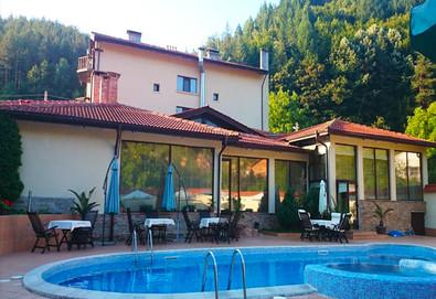 Почивка през август или септември в Хотел Шипково в с. Шипково! Нощувка със закуска и вечеря, ползване на басейн, джакузи, парна баня и сауна! - Снимка