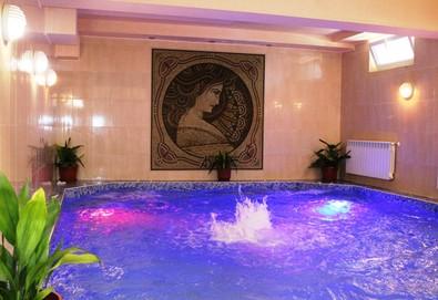 Почивка през лятото в Хотел Астрея 3*, Хисаря! 3, 4 или 5 нощувки с изхранване по избор, ползване на вътрешен и външен минерален басейн, парна баня и финландска сауна, шезлонги и паркинг - Снимка
