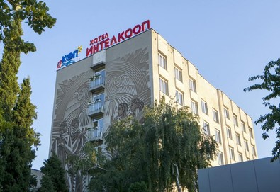 Почивка в Хотел Интелкооп, Пловдив! Нощувка със закуска в единична, дойна стая или апартамент, ползване на паркинг и  Wi - Fi - Снимка