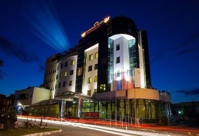 Златна есен в Diplomat Plaza Hotel & Resort, Луковит! 1 нощувка  в двойна стандартна стая, 1 закуска и 1 BBQ вечеря, СПА пакет,  безплатно настаняване на дете до 6г. - Снимка