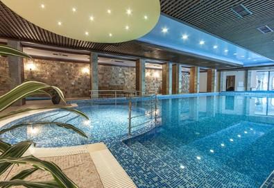 Релаксираща почивка в Апартаментен хотел Гранд Рояле 4*, Банско! Нощувка със закуска и вечеря, ползване на закрит басейн, арома сауна и парна баня, безплатно за дете до 2.99г.! - Снимка