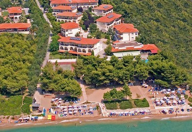 Нощувка на база Закуска и вечеря,All inclusive в Portes Beach Hotel 4*, Потидея, Халкидики - Снимка