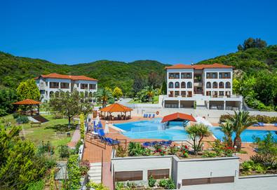 Нощувка на база Закуска и вечеря,All inclusive в Theoxenia Hotel 4*, Уранополис, Халкидики - Снимка