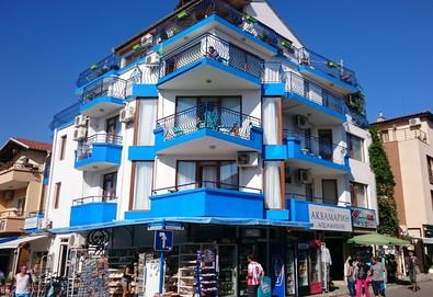 Специална оферта за почивка през май/ юни в хотел Аквамарин 3*, Созопол! 3 нощувки на човек в двойна/ тройна стая , безплатно настаняване на дете до 6г.!  - Снимка