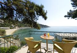 Нощувка на човек на база Закуска, Закуска и вечеря в Tosca Beach Bungalows, Северна Гърция - Снимка
