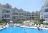 """Почивка в Созопол  от май до септември, в Апартхотел """"Панорама"""", местност Буджака! 7 нощувки в апартаменти с 1 или 2 спални с оборудван кухненски бокс, климатици,външен басейн, шезлонги и чадъри, вътрешен двор - градина, хотела е на първа линия над морето - thumb 1"""