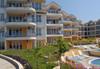 """Почивка в Созопол  от май до септември, в Апартхотел """"Панорама"""", местност Буджака! 7 нощувки в апартаменти с 1 или 2 спални с оборудван кухненски бокс, климатици,външен басейн, шезлонги и чадъри, вътрешен двор - градина, хотела е на първа линия над морето - thumb 2"""