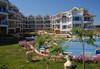 """Почивка в Созопол  от май до септември, в Апартхотел """"Панорама"""", местност Буджака! 7 нощувки в апартаменти с 1 или 2 спални с оборудван кухненски бокс, климатици,външен басейн, шезлонги и чадъри, вътрешен двор - градина, хотела е на първа линия над морето - thumb 22"""