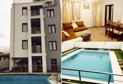 До 31.10 в хотел Свети Никола 2*, Сапарева баня: нощувка, закуска, басейн