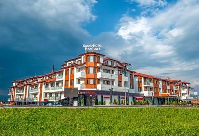 Релаксирайте през ноември в Гранд Хотел Банско 4*, Банско! 1 нощувка на база All Inclusive, вътрешен акватоничен басейн, зона за релакс, безплатно за дете до 5.99 г.  - Снимка