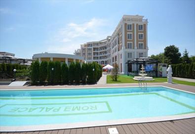 Почивайте през цялото лято в най-новия хотел в Слънчев бряг - Рома Палас Делукс 4*! Нощувка на база All inclusive, ползване на басейн, безплатно за първо дете до 12г.! - Снимка