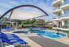 Цяло лято на 150 м. от плажа в хотел Адена 3*, Черноморец! Нощувка със закуска, ползване на басейн, шезлонг и чадър, безплатно за дете до 1.99 г.  - thumb 26