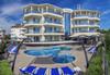 Цяло лято на 150 м. от плажа в хотел Адена 3*, Черноморец! Нощувка със закуска, ползване на басейн, шезлонг и чадър, безплатно за дете до 1.99 г.  - thumb 2