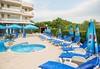 Цяло лято на 150 м. от плажа в хотел Адена 3*, Черноморец! Нощувка със закуска, ползване на басейн, шезлонг и чадър, безплатно за дете до 1.99 г.  - thumb 5