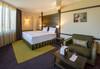 Почивка в хотел Хот Спрингс Медикал и СПА 4* в село Баня! Нощувка със закуска и вечеря, ползване на вътрешен и външен басейн, хамам, парна баня, солна стая, финландски сауни, rain walk, лакониум и още - thumb 6