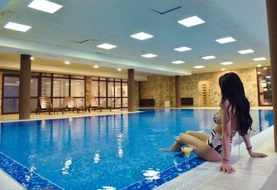 Релаксираща почивка в Роял Банско Апартмънтс 3*, Банско! Нощувка с изхранване по избор, ползване на вътрешен отопляем басейн и релакс зона, безплатно за дете до 11.99 г. - Снимка