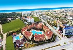 Самолетна почивка в Турция! 7 нощувки на човек на база All inclusive в Orfeus Park Hotel 4*, Сиде, Турска ривиера с двупосочен чартърен полет от София - Снимка