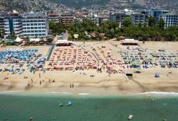 Самолетна почивка в Турция! 7 нощувки на човек на база All inclusive в Alaiye Kleopatra Hotel 4*, Алания, Турска ривиера с двупосочен чартърен полет от София - Снимка