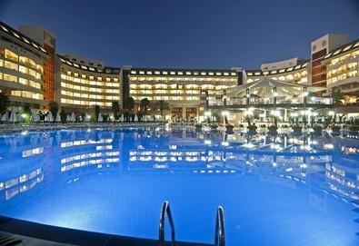 Самолетна почивка в Турция! 3 нощувки на човек на база All inclusive в Amelia Beach Resort Hotel & Spa 5*, Сиде, Турска ривиера с двупосочен чартърен полет от София - Снимка