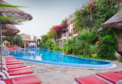 Самолетна почивка в Турция! 7 нощувки на човек на база All inclusive в Ayaz Aqua Hotel 4*, Бодрум, Егейска Турция с двупосочен чартърен полет от София - Снимка