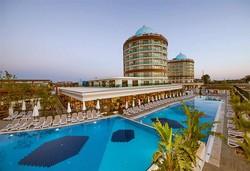 Самолетна почивка в Турция! 7 нощувки на човек на база All inclusive в Dream World Aqua 5*, Сиде, Турска ривиера с двупосочен чартърен полет от София - Снимка