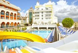 Самолетна почивка в Турция! 7 нощувки на човек на база All inclusive в Dream World Resort & Spa 5*, Сиде, Турска ривиера с двупосочен чартърен полет от София - Снимка
