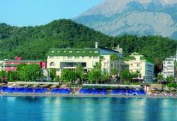 Самолетна почивка в Турция! 7 нощувки на човек на база All inclusive в L'ancora Beach Hotel 4*, Кемер, Турска ривиера с двупосочен чартърен полет от София - Снимка