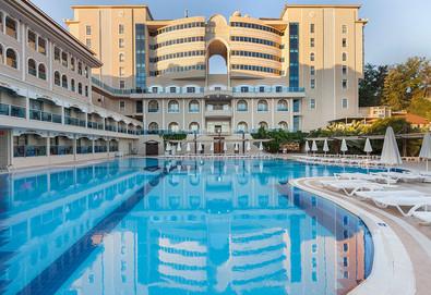 Самолетна почивка в Турция! 3 нощувки на човек на база All inclusive в Sultan Of Side Hotel  5*, Сиде, Турска ривиера с двупосочен чартърен полет от София - Снимка