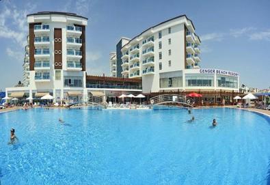 Самолетна почивка в Турция! 7 нощувки на човек на база All inclusive в Cenger Beach Resort & Spa 5*, Сиде, Турска ривиера с двупосочен чартърен полет от София - Снимка