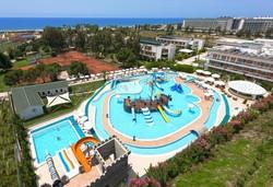 Самолетна почивка в Турция! 7 нощувки на човек на база All inclusive в Club Kastalia 5*, Алания, Турска ривиера с двупосочен чартърен полет от София - Снимка