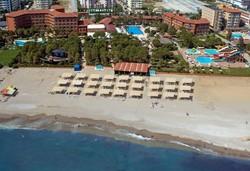 Самолетна почивка в Турция! 7 нощувки на човек на база All inclusive в Club Turtas Beach 4*, Алания, Турска ривиера с двупосочен чартърен полет от София - Снимка
