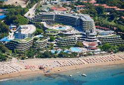 Самолетна почивка в Турция! 7 нощувки на човек на база Ultra all inclusive в Crystal Sunrise Queen Luxury Resort & Spa 5*, Сиде, Турска ривиера с двупосочен чартърен полет от София - Снимка