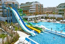 Самолетна почивка в Турция! 7 нощувки на човек на база Ultra all inclusive в Crystal Water World Resort & Spa 5*, Белек, Турска ривиера с двупосочен чартърен полет от София - Снимка