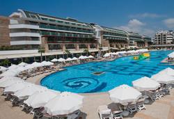 Самолетна почивка в Турция! 7 нощувки на човек на база Ultra all inclusive в Crystal Water World Resort & Spa 5*, Белек, Турска ривиера с двупосочен чартърен полет от Варна - Снимка