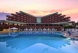 Самолетна почивка в Турция! 7 нощувки на човек на база Ultra all inclusive в Delphin Deluxe Resort 5*, Алания, Турска ривиера с двупосочен чартърен полет от София - Снимка