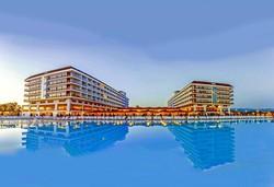 Самолетна почивка в Турция! 7 нощувки на човек на база Ultra all inclusive в Eftalia Aqua Resort 5*, Алания, Турска ривиера с двупосочен чартърен полет от София - Снимка