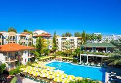Самолетна почивка в Турция! 7 нощувки на човек на база All inclusive в Gardenia Beach Hotel 4*, Алания, Турска ривиера с двупосочен чартърен полет от София - Снимка