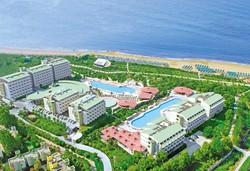 Самолетна почивка в Турция! 7 нощувки на човек на база All inclusive във Von Resort Golden Coast 5*, Сиде, Турска ривиера с двупосочен чартърен полет от София - Снимка